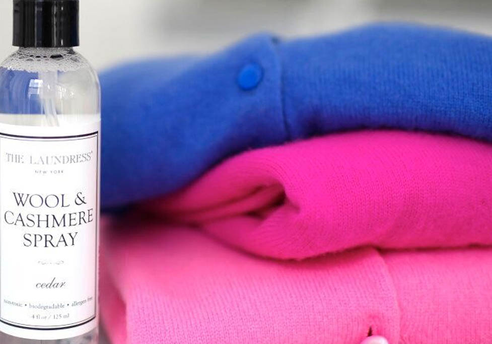 freshen cold weather clothes post-storing