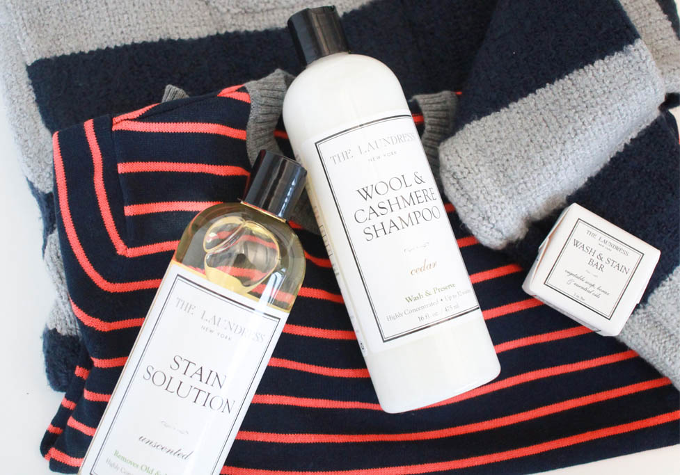 caring for clothes with the laundress