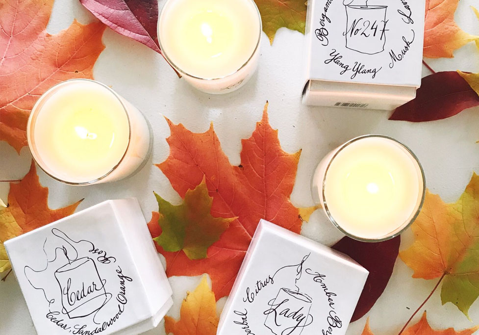 our candles are back!